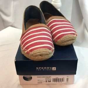 Sperry Top-Sider Danica Bretton Red espadrilles